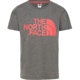 The North Face Boyfriend - T-shirt manches courtes Enfant - gris/rouge